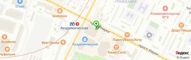 Май — схема проезда на карте