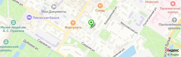 Гостиничный комплекс Натали — схема проезда на карте