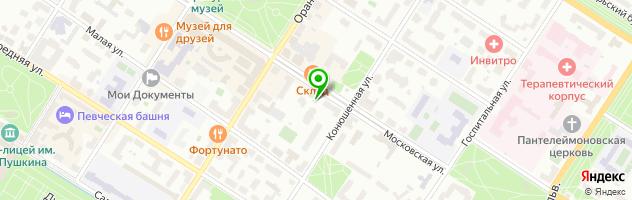 Салон-ателье Русский Стиль (АБСОЛЮТ) — схема проезда на карте