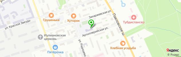 Средняя общеобразовательная школа №695 Радуга — схема проезда на карте