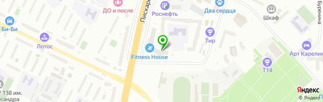 IT-компания Петербургская компьютерная служба 911 — схема проезда на карте