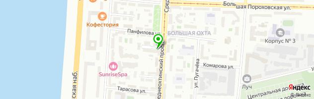 Салон красоты КРАСАВА — схема проезда на карте