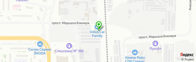 Автоцентр Свид-Мобиль — схема проезда на карте