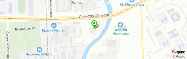 Компания по выкупу автомобилей Контакт-Авто — схема проезда на карте