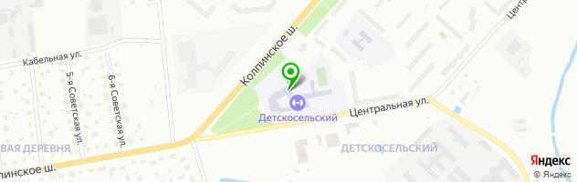 Средняя общеобразовательная школа №297 с дошкольным отделением — схема проезда на карте