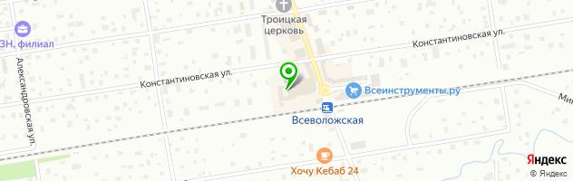 Мобиком — схема проезда на карте