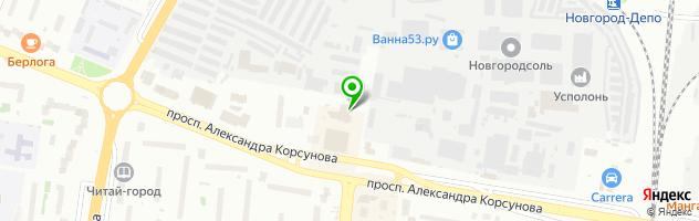 """Кафе-бар """"Белград"""" — схема проезда на карте"""