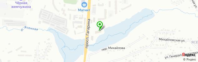 Автоцентр SKODA С-Авто — схема проезда на карте