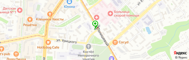 Медико-косметологический центр Галатея — схема проезда на карте
