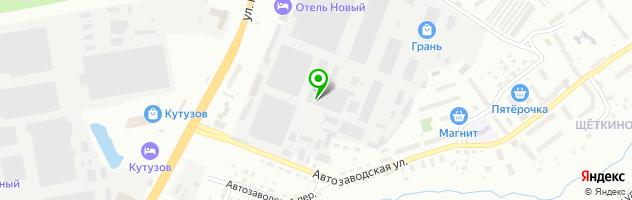 Автосервис Авто Люкс — схема проезда на карте