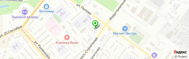 АВТОШКОЛА «АВТОСТАРТ» — схема проезда на карте