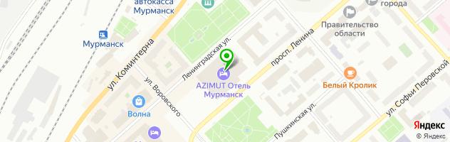 ОБЕД Мурманск — схема проезда на карте
