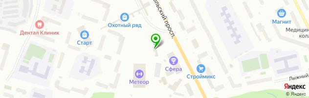 Детейлинг-центр АвтоSpa Мурманск — схема проезда на карте