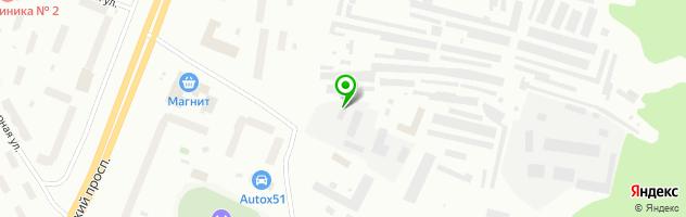 Специализированный автоцентр LEXOTA — схема проезда на карте
