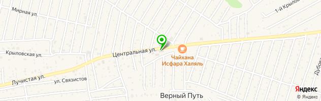Автосервис Da-car на Центральной улице — схема проезда на карте