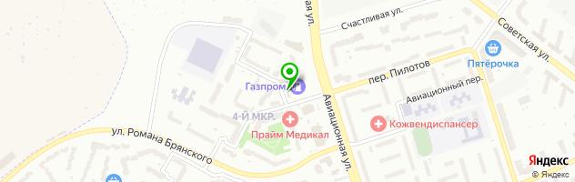 Гостиничный комплекс Подкова — схема проезда на карте
