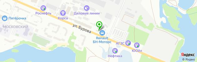 Торгово-сервисная компания Меноком — схема проезда на карте