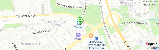 Торгово-сервисный центр Вектор-Лайт — схема проезда на карте