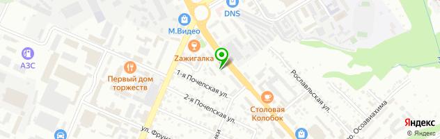 Рекламно-полиграфическая компания Арт-колор — схема проезда на карте