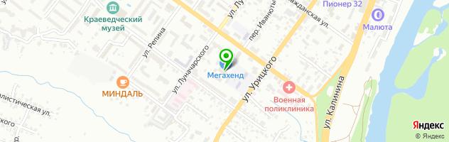 Типография — схема проезда на карте