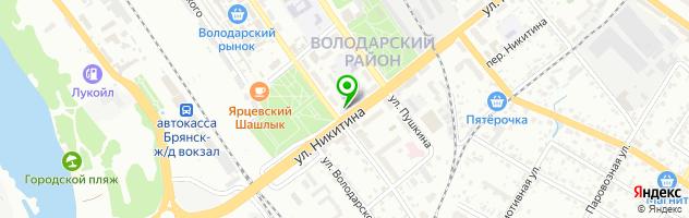 Экспресс-Ломбард Плюс — схема проезда на карте