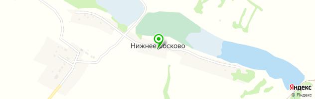 Арсеньево — схема проезда на карте