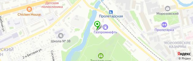 Автосервис ТЭФКО-Сервис — схема проезда на карте