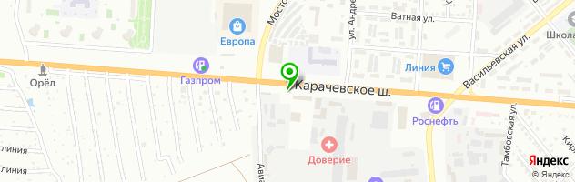 Кафе Для Друзей — схема проезда на карте