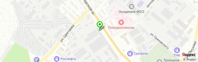 Клуб виртуальной реальности ViRus — схема проезда на карте