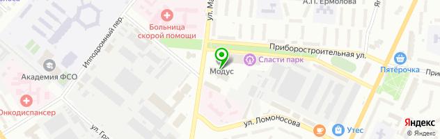 Центр косметологии и снижения веса Доктор Гаврилов — схема проезда на карте