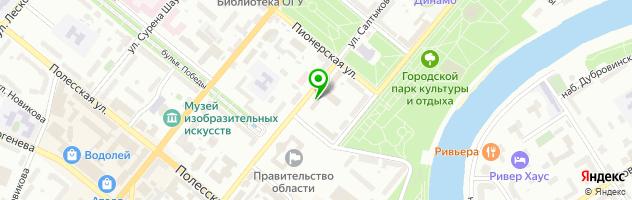 ТехноКомм-сервис (ИП Голованов В.Н.) Торгово-сервисная компания — схема проезда на карте