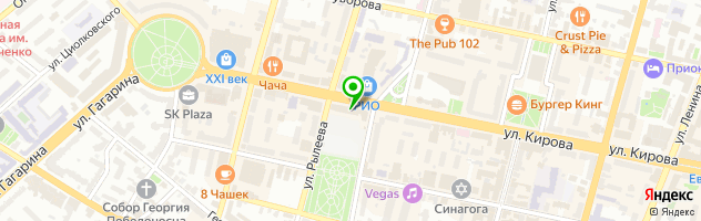Сокол — схема проезда на карте