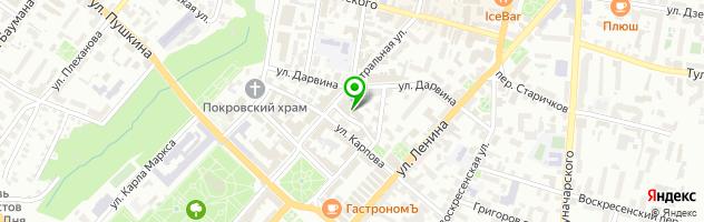 Гостинично-развлекательный комплекс Алые Паруса — схема проезда на карте