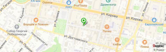 Рекламно-полиграфическая компания Время Ч — схема проезда на карте
