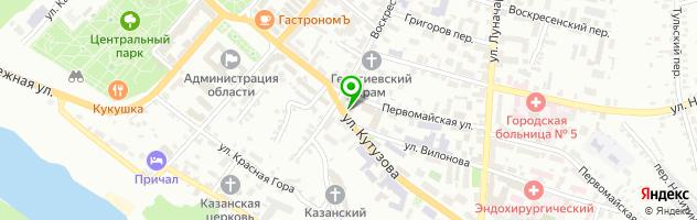 Эс Класс Клиник Калуга — схема проезда на карте