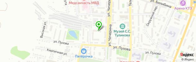 Центр квестов — схема проезда на карте