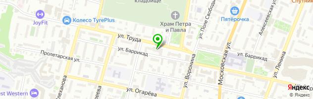 Ритуальная компания НЕКРОПОЛЬ — схема проезда на карте
