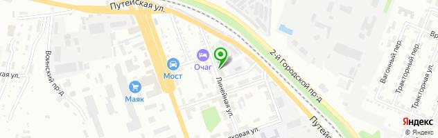 Центр информационных технологий и монтажа видеонаблюдения ИнфоЦентр — схема проезда на карте