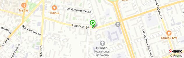 Сервисный центр 220 вольт — схема проезда на карте