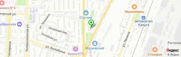 Спортивно-оздоровительный центр Дельфин — схема проезда на карте