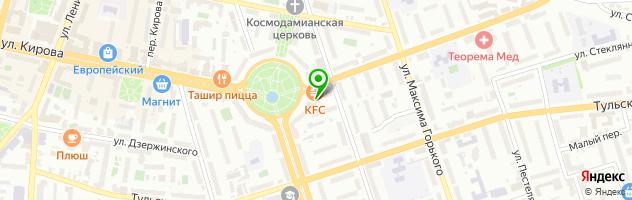 Заведение закрыто — схема проезда на карте