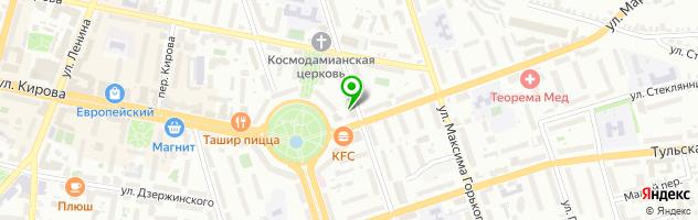 Медицинский центр Доктор Лазер — схема проезда на карте