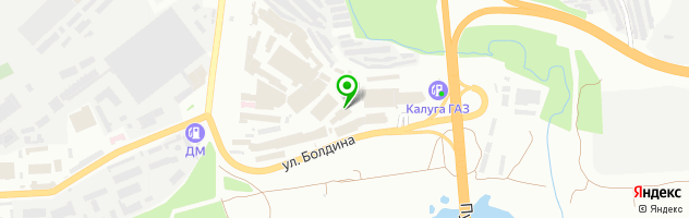 Центр автостекла Bitstop — схема проезда на карте