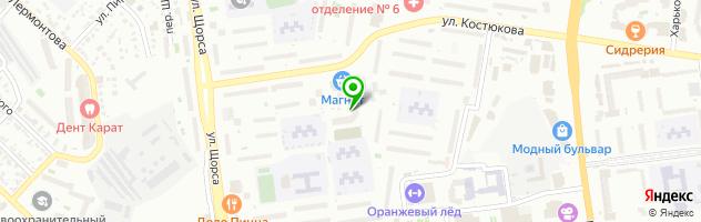 Body Slim LPG массаж Белгород — схема проезда на карте