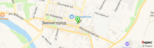 Ногтевая студия Ноготок — схема проезда на карте