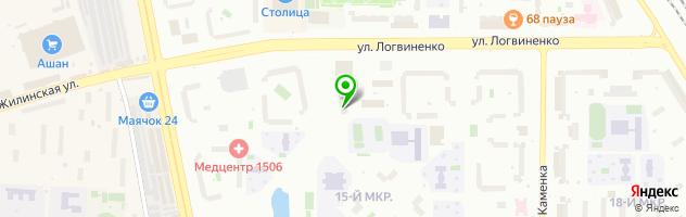 Технический центр Протор-Сервис — схема проезда на карте