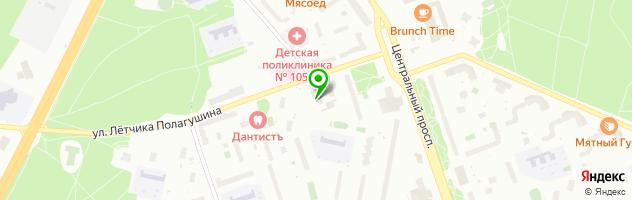 "Медицинский центр ""НОРМА-XXI"" — схема проезда на карте"