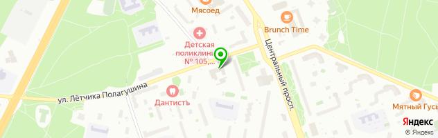 Сервис-Быт — схема проезда на карте