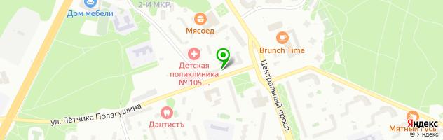 Сервисный центр AE Person — схема проезда на карте