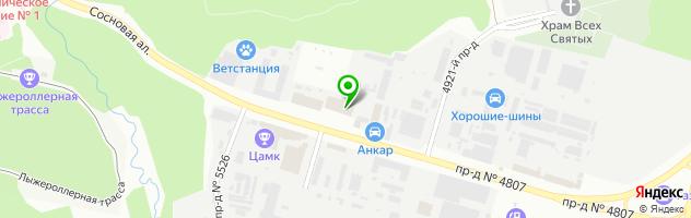 Торговая компания Зелшина — схема проезда на карте